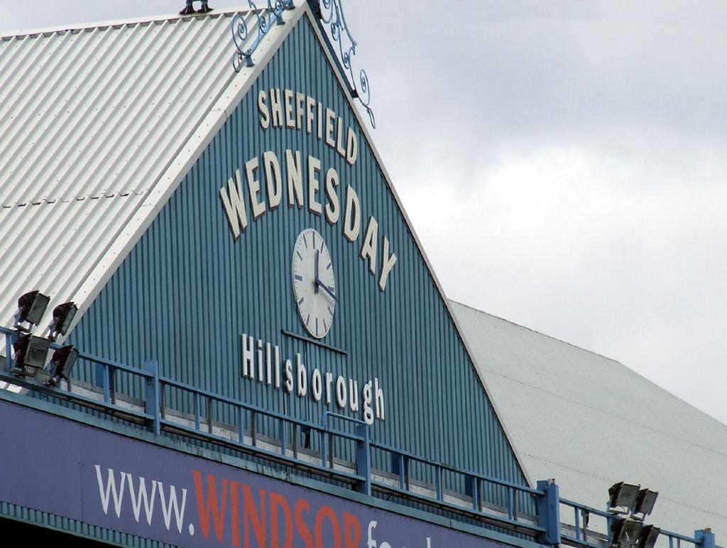 Hillsborough Stadium, home of Sheffield Wednesday.