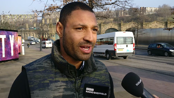 Kell Brook talking about plans to fight at Bramall Lane