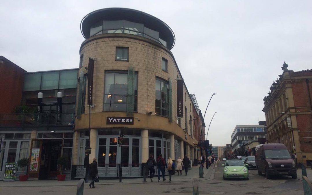 Vicious attack outside Sheffield City Centre pub leaves victim with serious injuries and memory loss