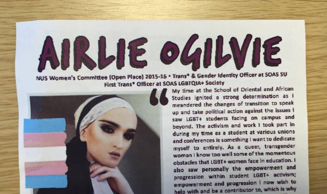 NUS LGBT+: Delegates vote to reopen nominations for Women's Officer after 'Islamophobic' candidate controversy