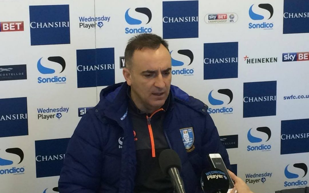 """""""Everything will be reyt"""", says Owls boss Carvalhal"""