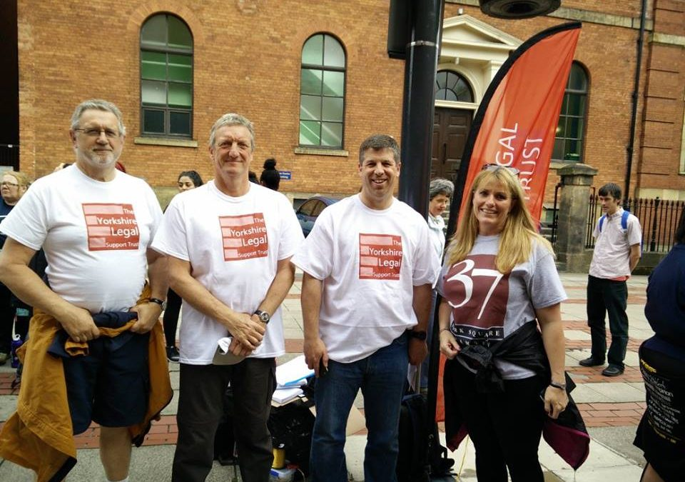 Sheffield legal firms take part in 10km walk for charity