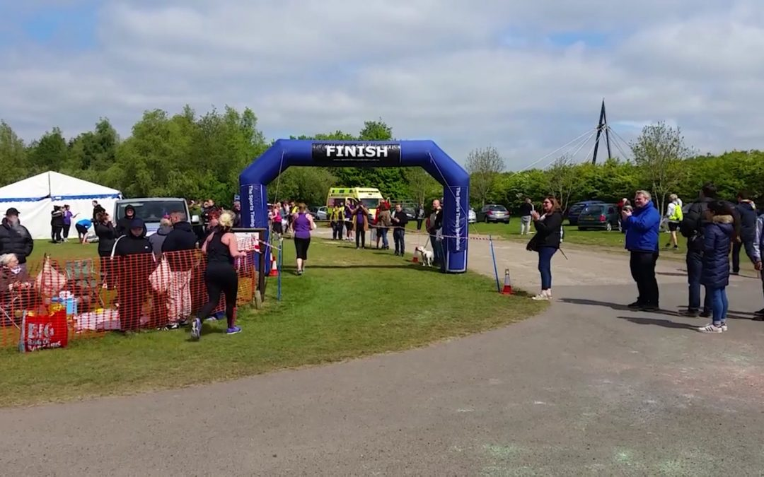 Charity fun run helps raise funds for Sheffield surgical robot