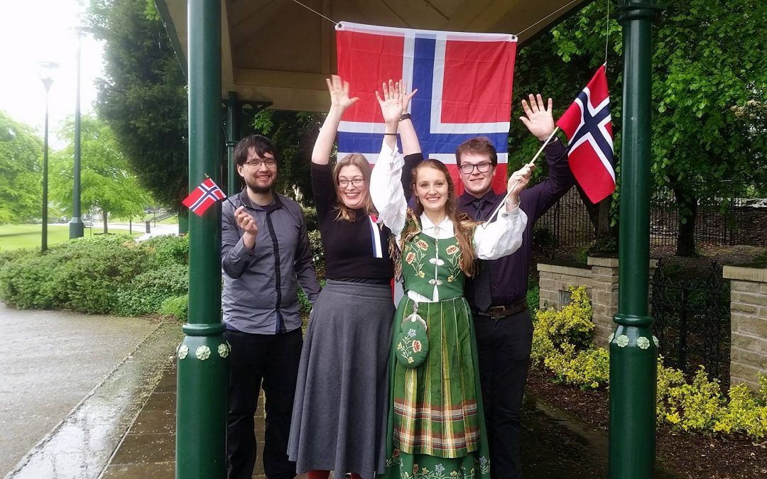 The Nordic Society celebrates Norway's national day hoping to recruit more members