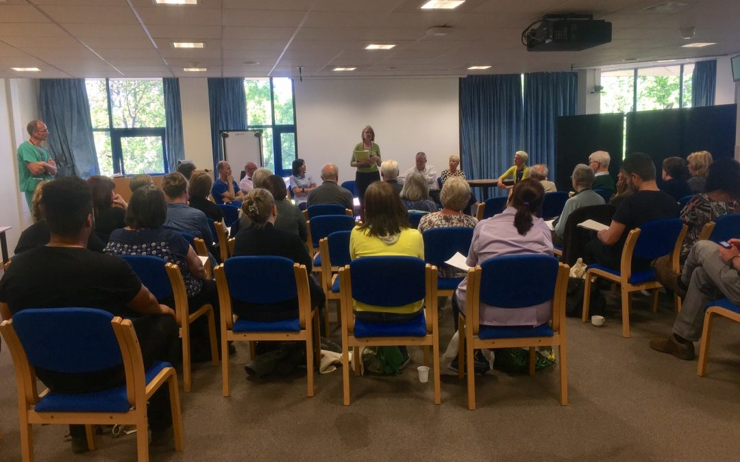 Sheffield medical staff get involved in Dying Matters Awareness Week