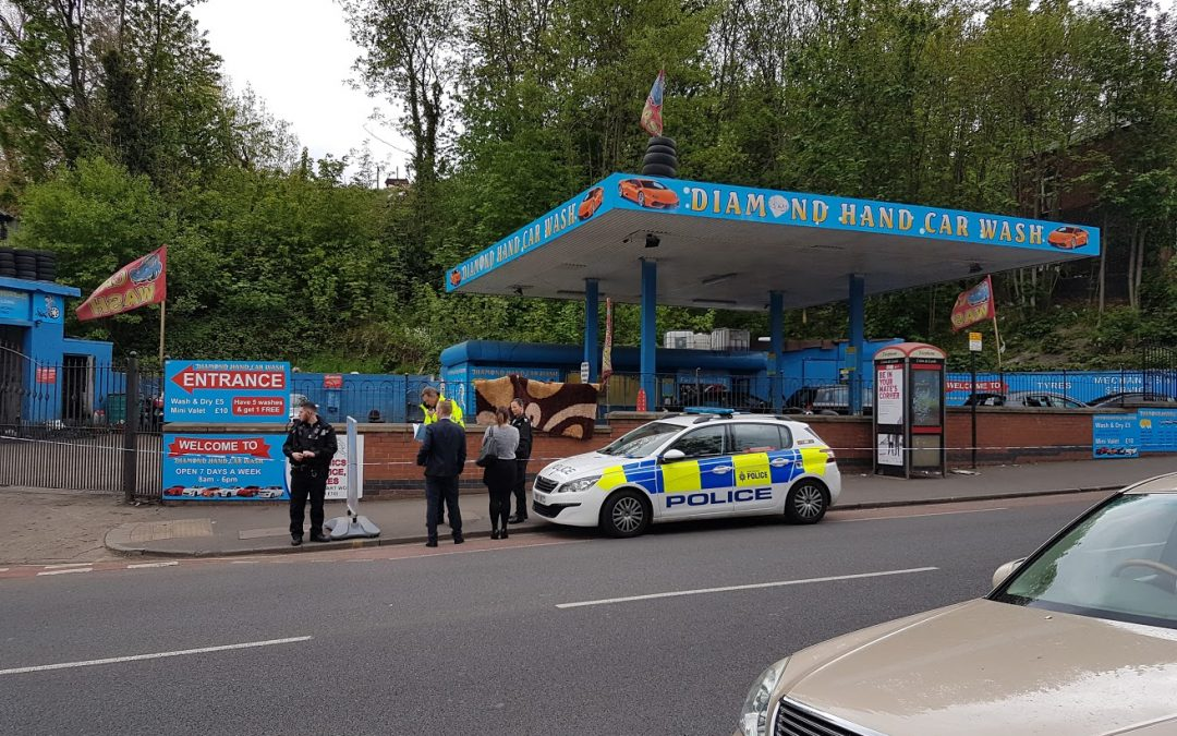 Gang attack on Burngreave Road