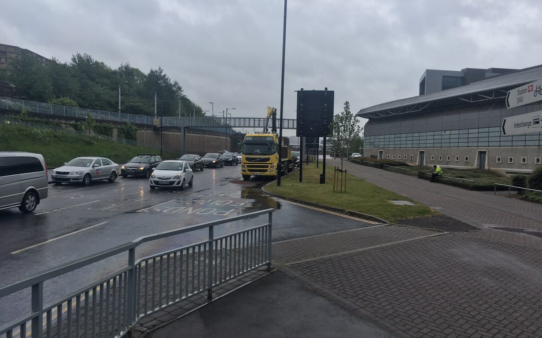 Lorry driver speaks of shock after bridge crash in Sheffield