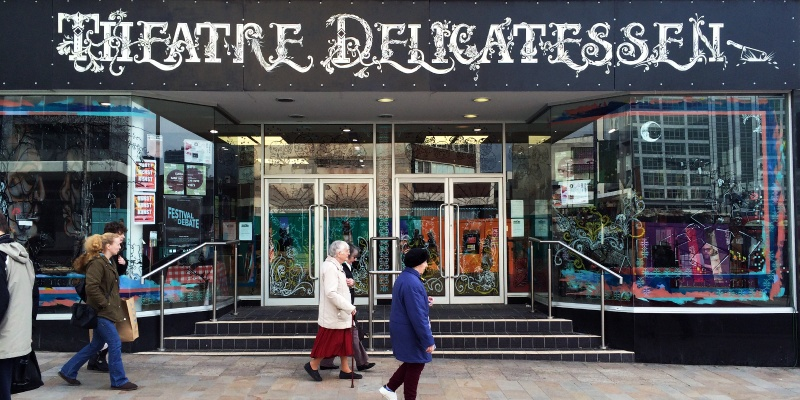 Playwright pays tribute to Theatre Delicatessen as it nears its finals days