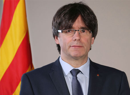 Catalonia crisis: Puigdemont says he will accept new election result