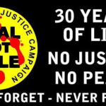 Logo for Orgreave Truh and Justice Campaign