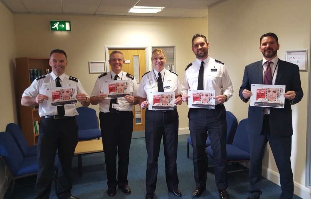 South Yorkshire Police promote their hate hurts campaign during #HateCrimeAwarenessWeek