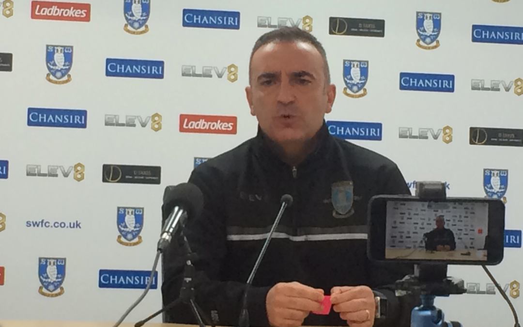 Carvalhal calls for stronger mindset as Sheffield Wednesday travel to Derby