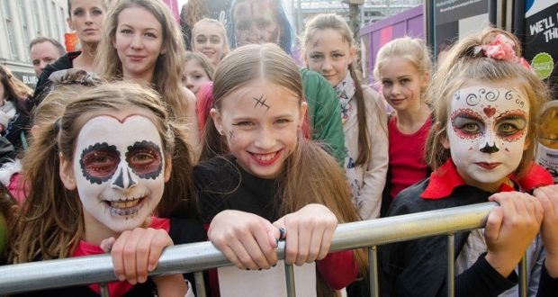 Sheffield taken over by spook-filled festival at the weekend