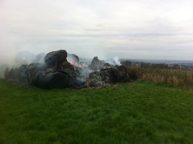 University students on night hike spot fire at Whirlow Hall Farm
