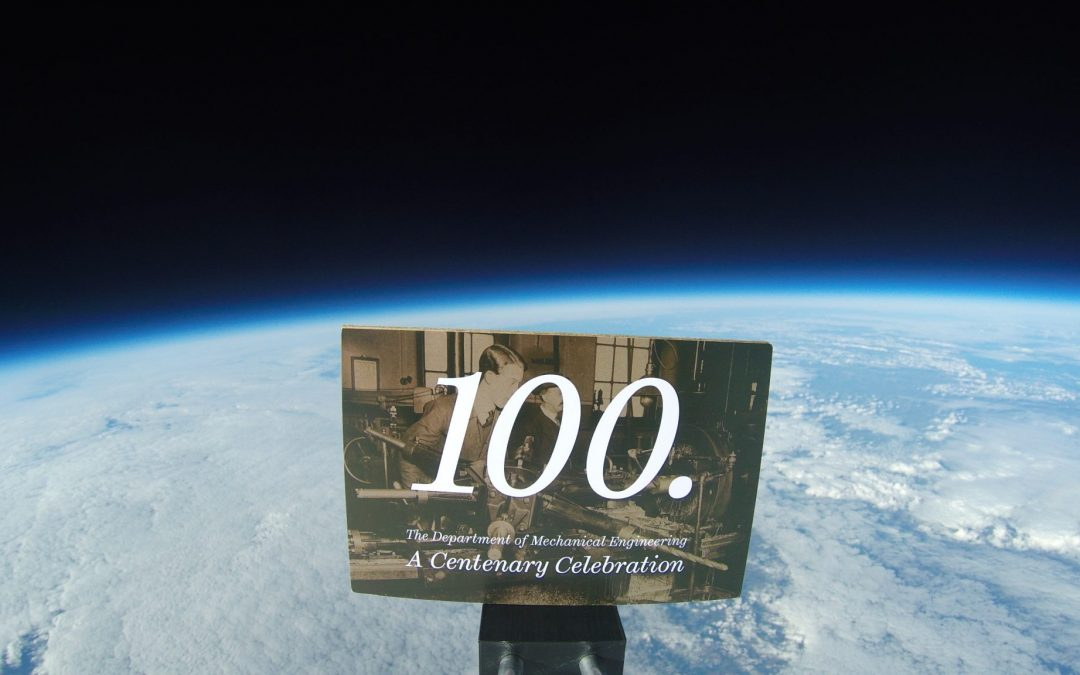 Sheffield Post Sent Into Space