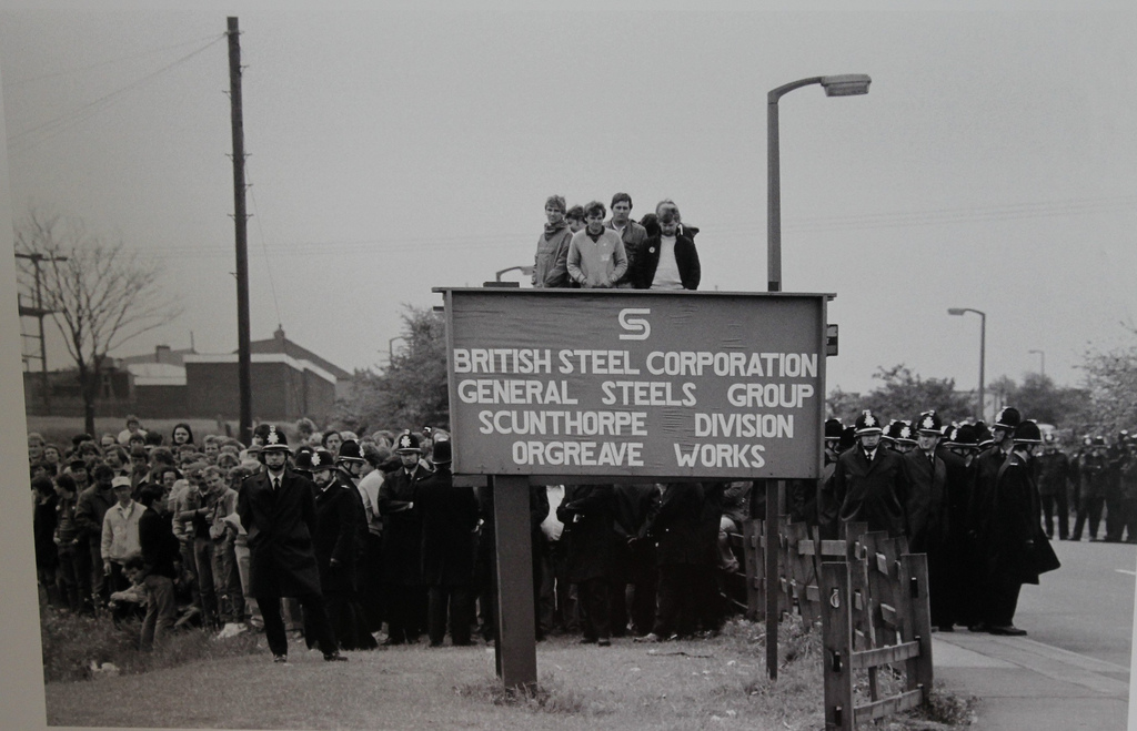 Sheffield protest for inquiry into Battle of Orgreave