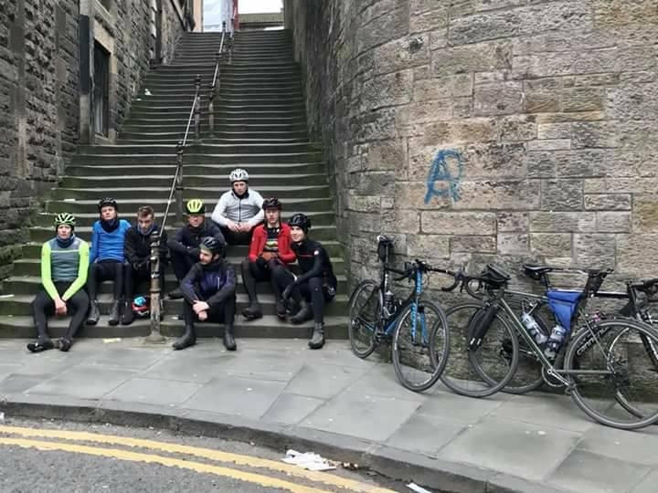 Sheffield students cycle Baby Bummit route to Edinburgh for charity
