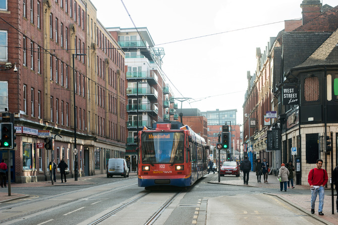 A survey has revealed that people in Sheffield feel unsafe in the city centre