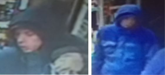 Police release CCTV images in connection with a series of incidents in Sheffield