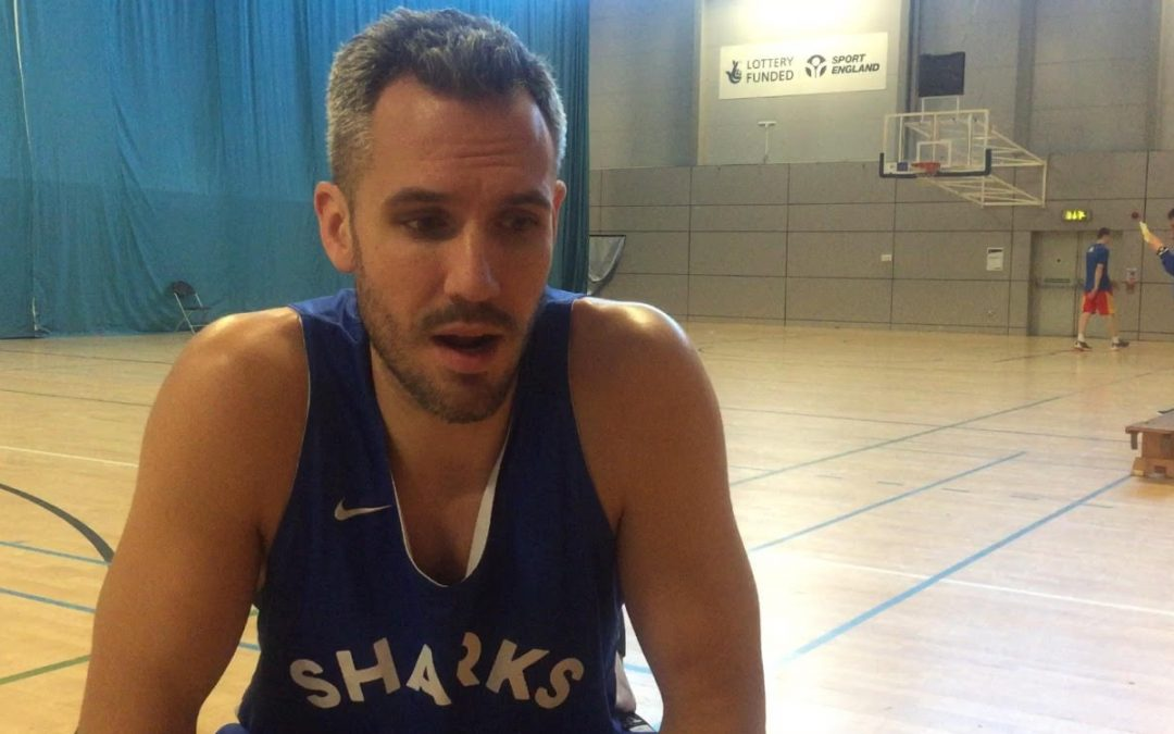 Sheffield Sharks captain Mike Tuck speaks to ShefNews on reaching the Basketball BBL Trophy Final