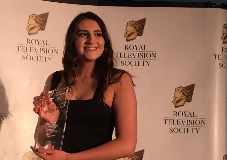 University of Sheffield graduate wins Royal Television Society award