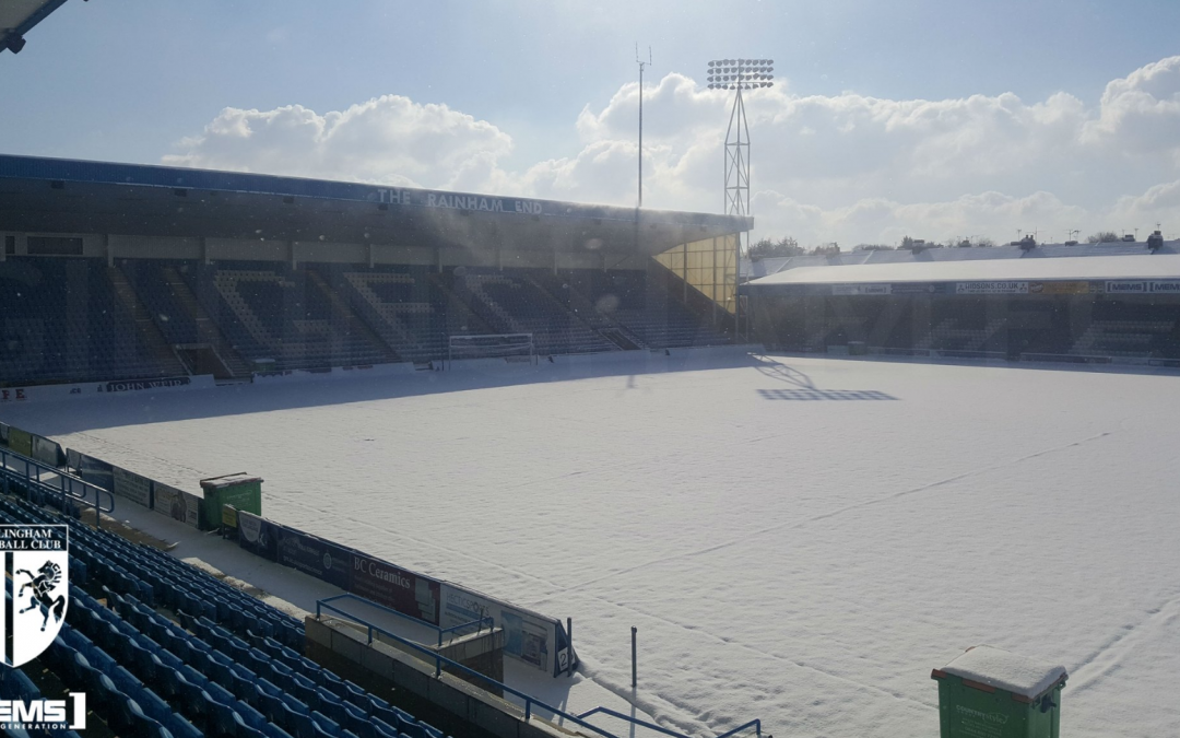 Millers game falls victim to the Beast from the East