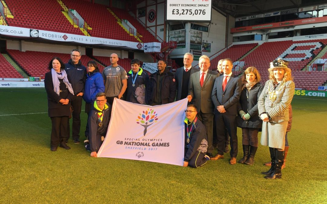 Special Olympics gives Sheffield massive economic boost