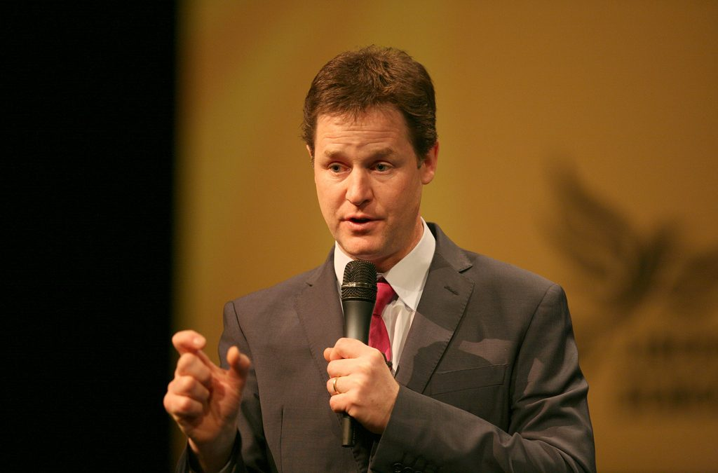 Ex-Sheffield MP Nick Clegg launches new podcast with Nigel Farage