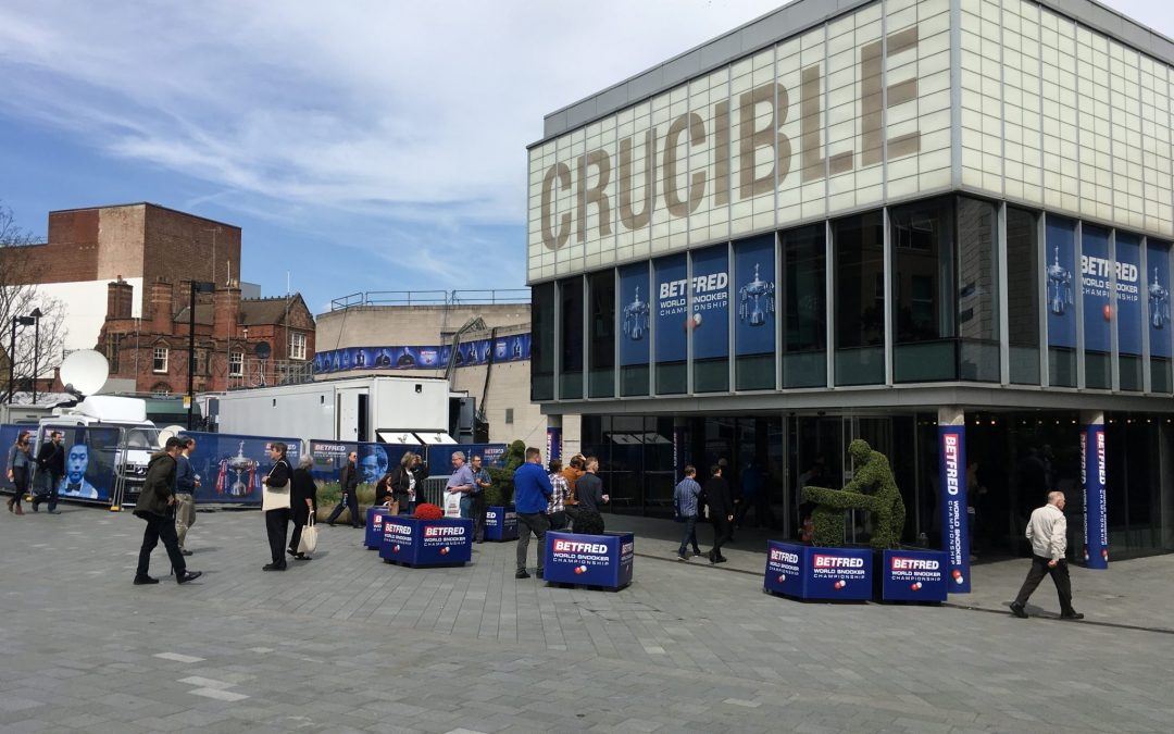 Sheffield business' pocket a fortune with fans cue-ing to watch this year's snooker championship