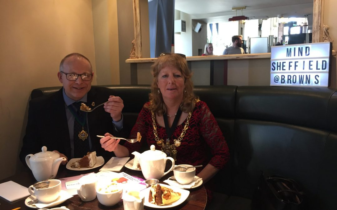 Sheffield Mayor emphasises importance of opening up at charity Bake Off ahead of Mental Health Awareness Week