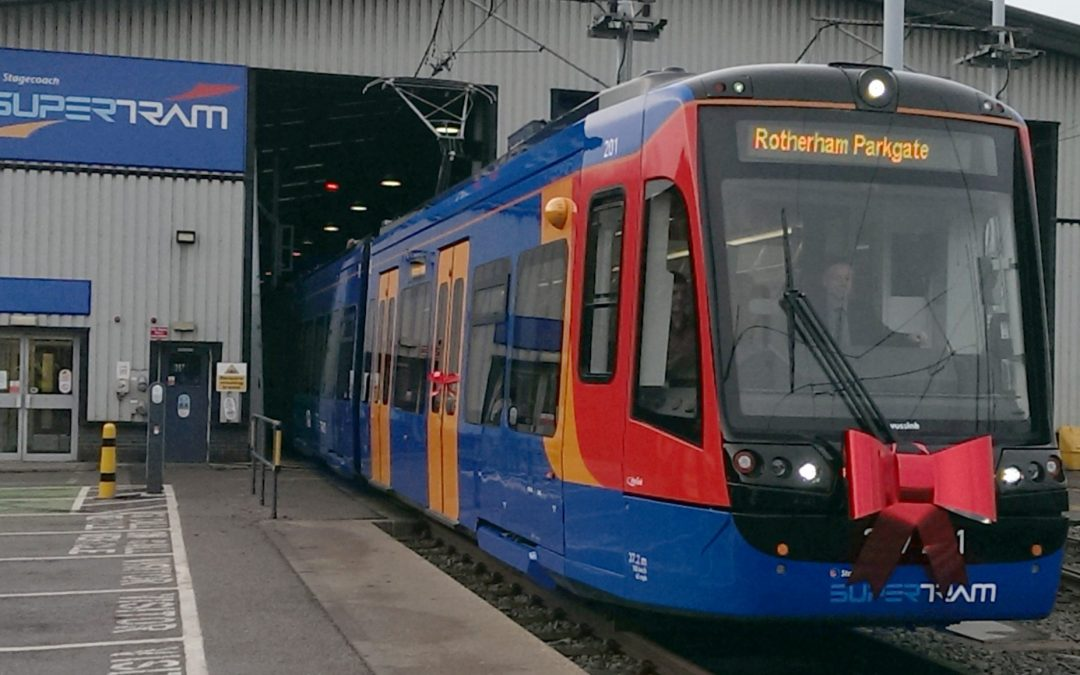 Police call for safety precautions after tram train link goes live