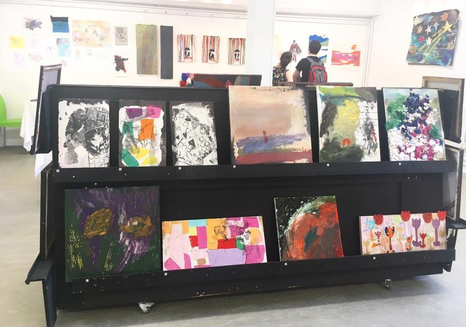 Pop-up gallery wows spectators at the Burton Street Foundation