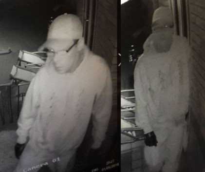 CCTV images released in connection with Chapeltown burglary