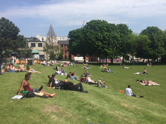 Sheffield to bask in warm weather this weekend