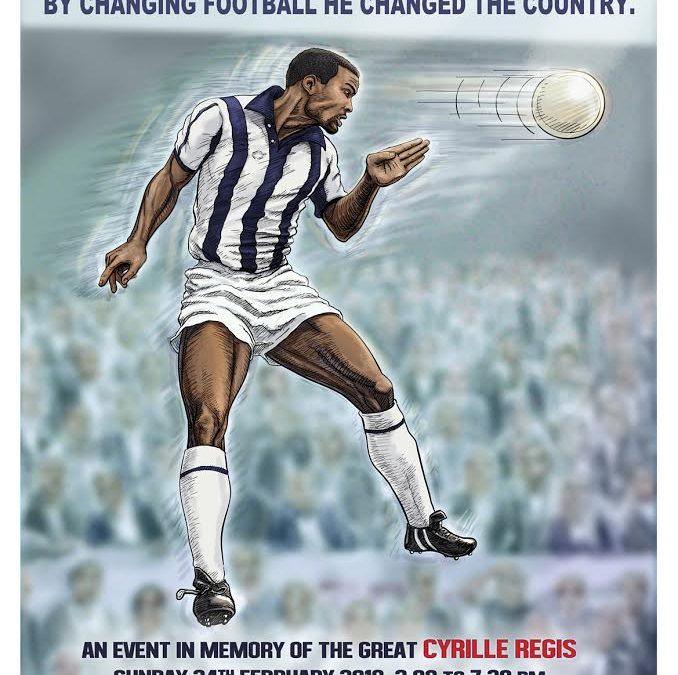Football Tournament in Honor of Cyrille Regis to be held in Sheffield