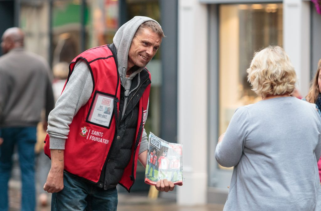 Lord Mayor takes crown in Big Issue selling challenge