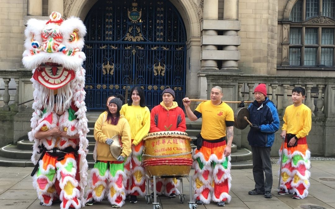 Crowds of people join stunning Chinese New Year celebrations in Sheffield