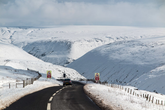 Snake Pass Reopened