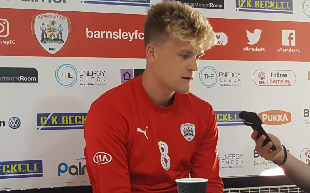 """Barnsley FC's McGeehan: """"We have to give it everything we got."""""""
