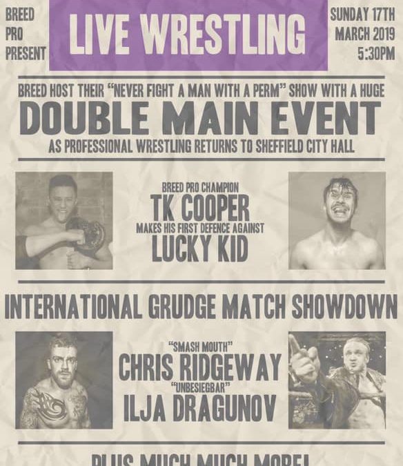 Sheffield To Host St Patrick's Day Wrestling Show