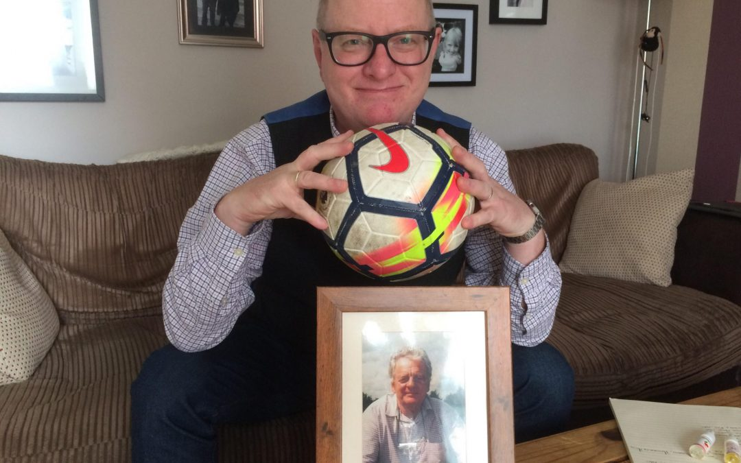 The man who raised over £9k for his dad – and why this year's 6-a-side football tournament is the last