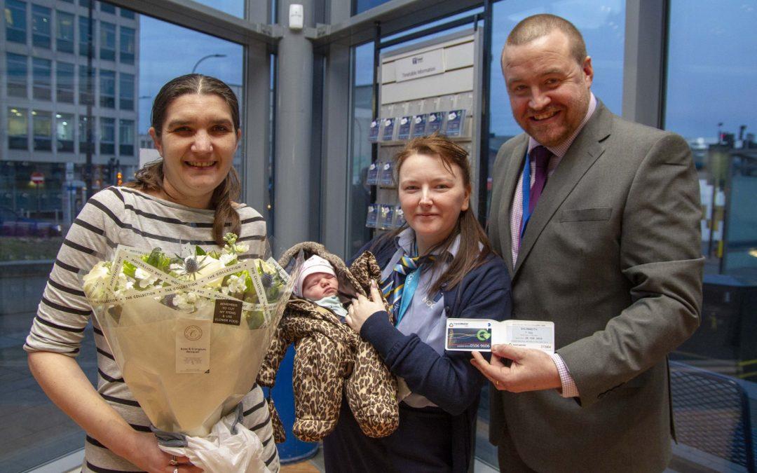Baby girl born in Sheffield bus station