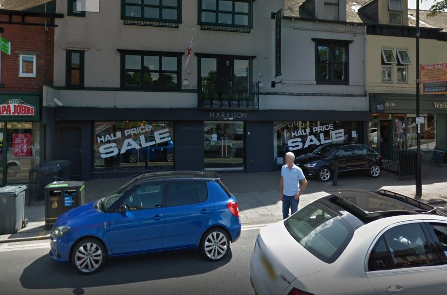 Ram raiders strike Ecclesall Road clothes shop 'for 5th time'