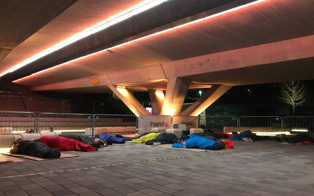 Sheffield students raised £2,000 by 'sleeping rough'