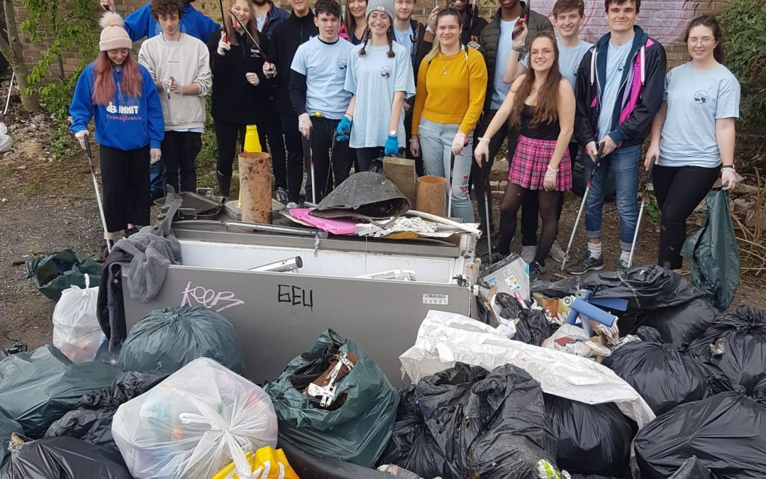 Sheffield Student aims to end litter for good, for charity!