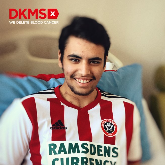 Teenage Blades fan's appeal for donors to fight leukaemia