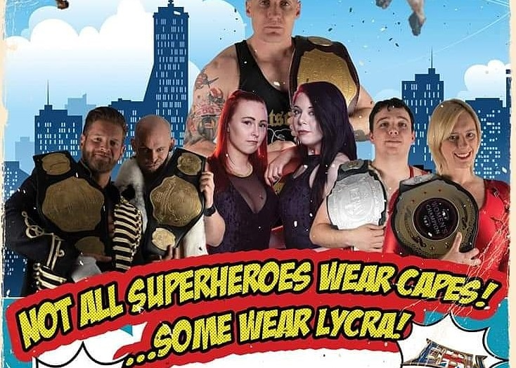 EBW has finally found a venue to hold their Superhero Rumble wrestling match.