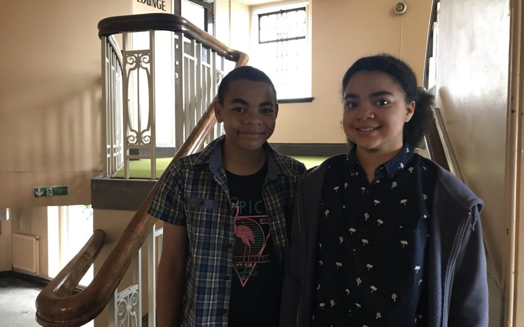 The thirteen year old twins that want to make a difference for refugees – and why they're doing it