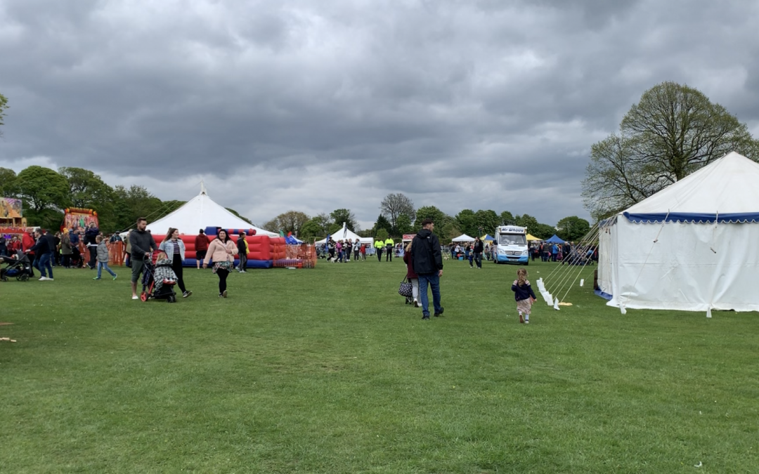 May Day bank holiday becomes a fun day out for families at Graves park