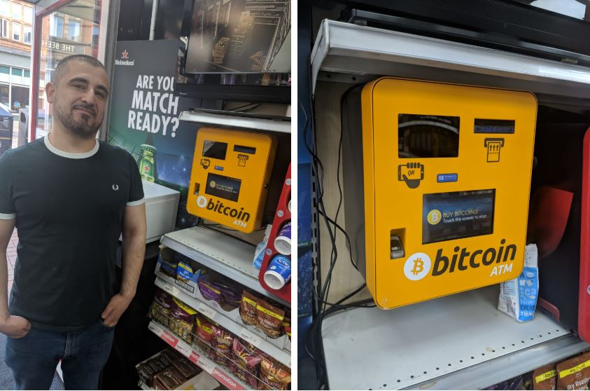 Exclusive: Bitcoin goes on sale at Sheffield city centre off licence